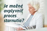 výskum procesu starnutia